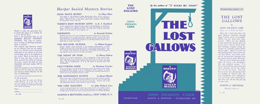 Lost Gallows, The. John Dickson Carr.