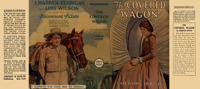 Covered Wagon, The. Emerson Hough