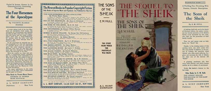 Sons of the Sheik, The. E. M. Hull