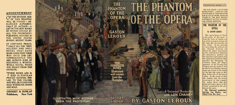 Phantom of the Opera, The. Gaston Leroux