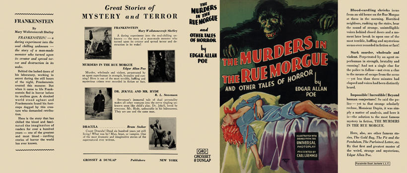 Murders in the Rue Morgue, The. Edgar Allan Poe