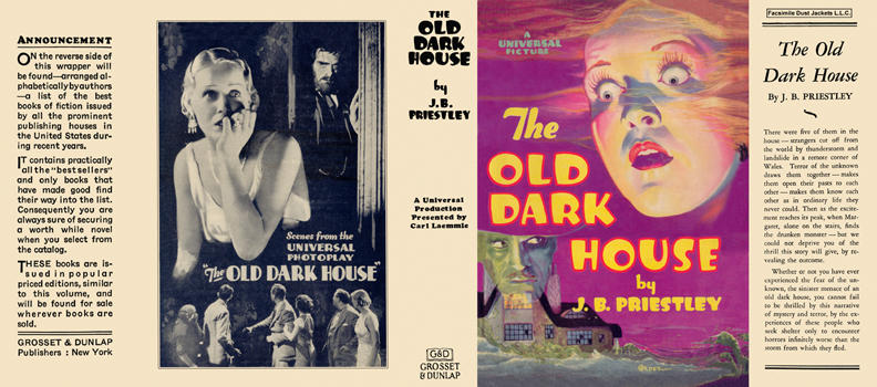 Old Dark House, The. J. B. Priestley