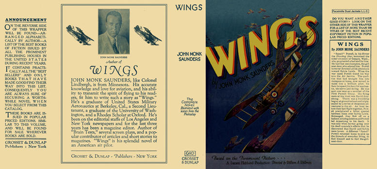 Wings. John Monk Saunders