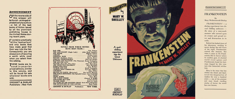 Frankenstein. Mary W. Shelley