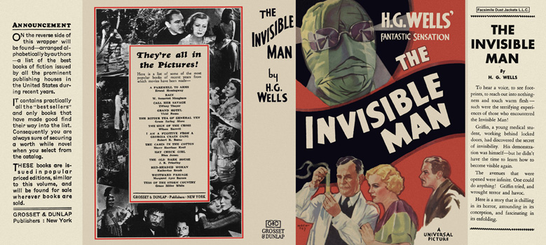 Invisible Man, The. H. G. Wells