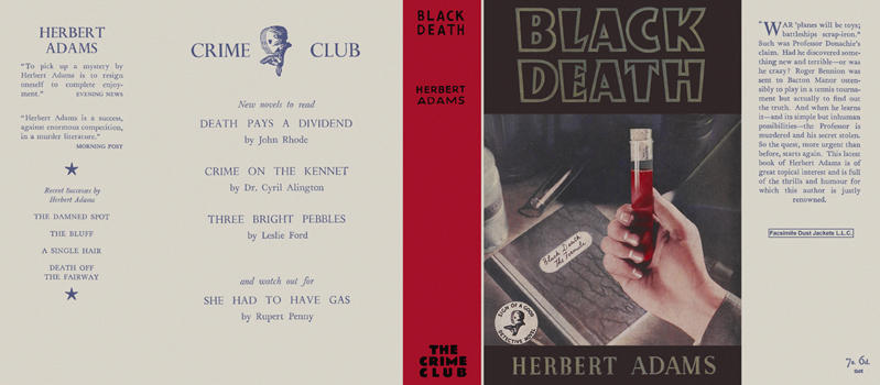 Black Death. Herbert Adams.