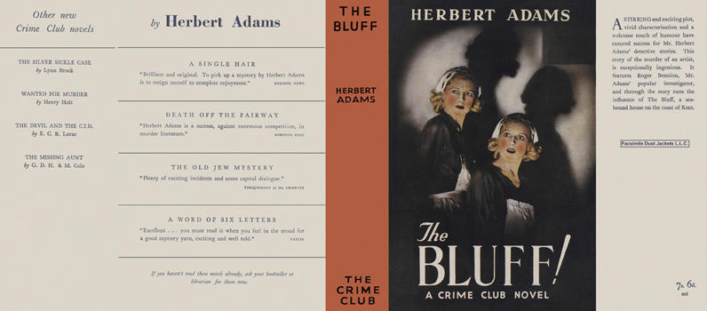 Bluff!, The. Herbert Adams