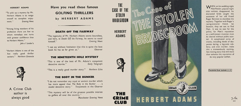 Case of the Stolen Bridegroom, The. Herbert Adams