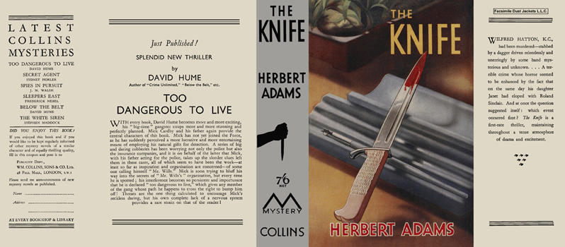 Knife, The. Herbert Adams