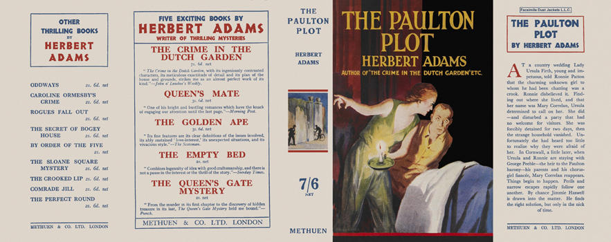 Paulton Plot, The. Herbert Adams