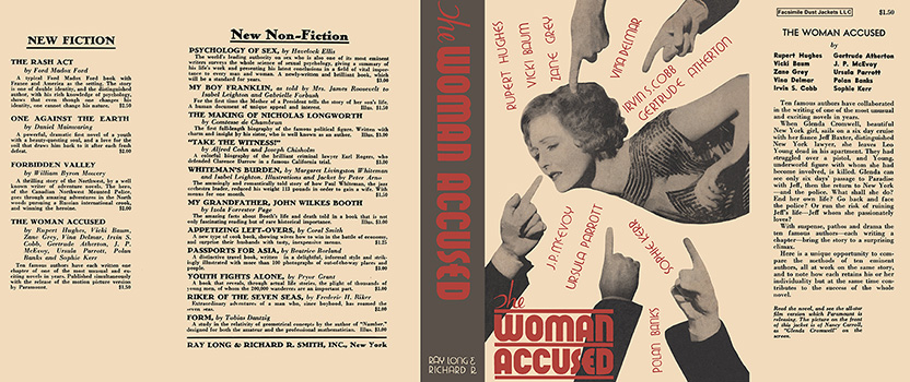 Woman Accused, The. Gertrude Atherton, et. al
