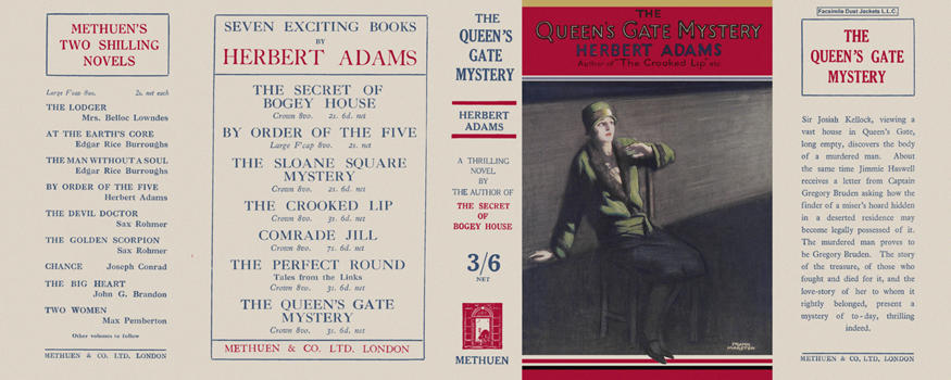 Queen's Gate Mystery, The. Herbert Adams
