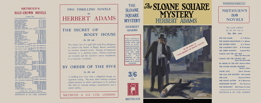 Sloane Square Mystery, The. Herbert Adams.