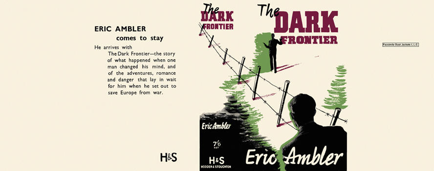 Dark Frontier, The. Eric Ambler