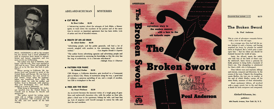 Broken Sword, The. Poul Anderson