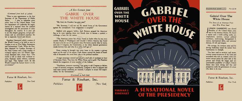 Gabriel over the White House. Thomas Tweed, Anonymous.