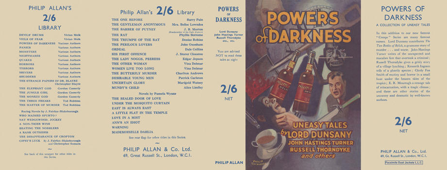 Powers of Darkness. Charles Lloyd Birkin, Anthology