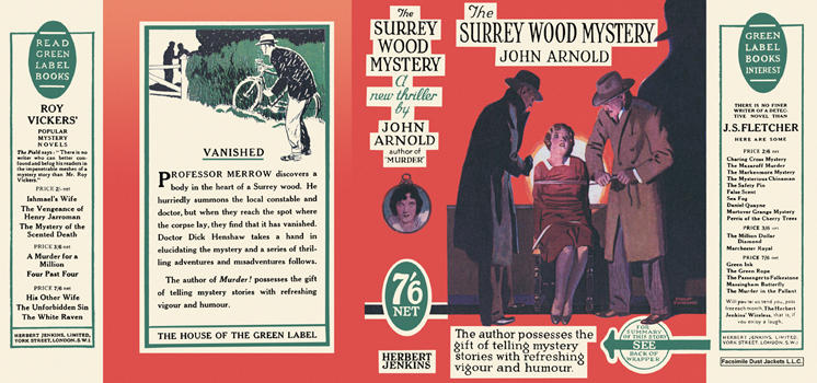 Surrey Wood Mystery, The. John Arnold