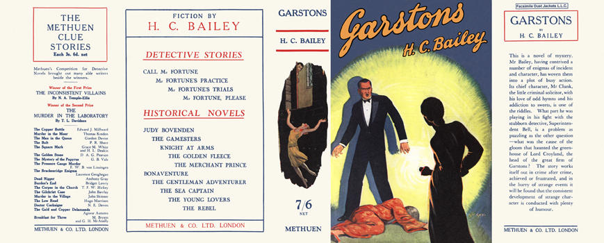 Garstons. H. C. Bailey.
