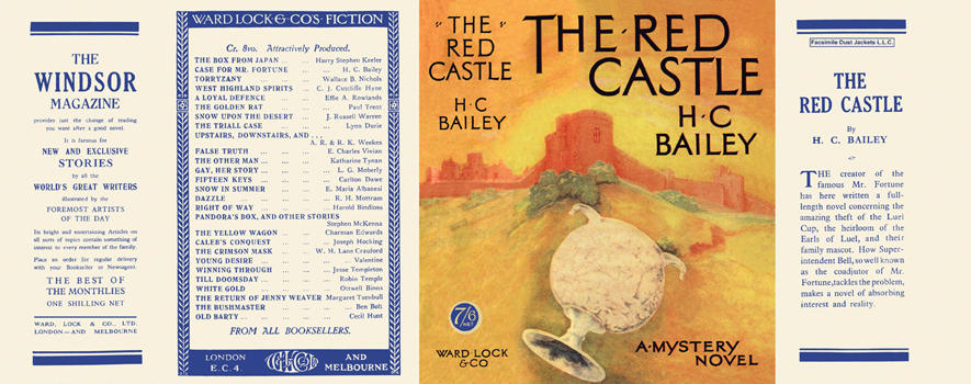 Red Castle, The. H. C. Bailey