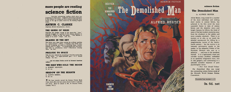 Demolished Man, The. Alfred Bester