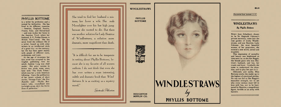Windlestraws. Phyllis Bottome