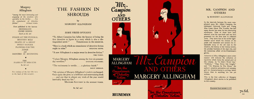 Mr. Campion and Others. Margery Allingham