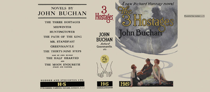 3 Hostages, The. John Buchan.