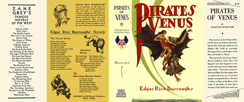 Pirates of Venus. Edgar Rice Burroughs.
