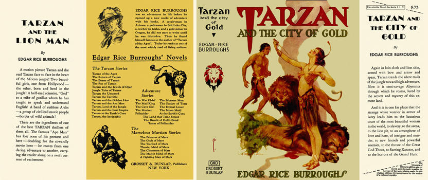 Tarzan and the City of Gold. Edgar Rice Burroughs