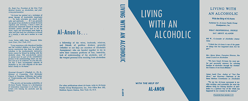Living with an Alcoholic. Alcoholics Anonymous.