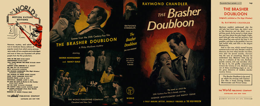 Brasher Doubloon, The. Raymond Chandler