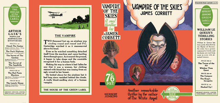 Vampire of the Skies. James Corbett.