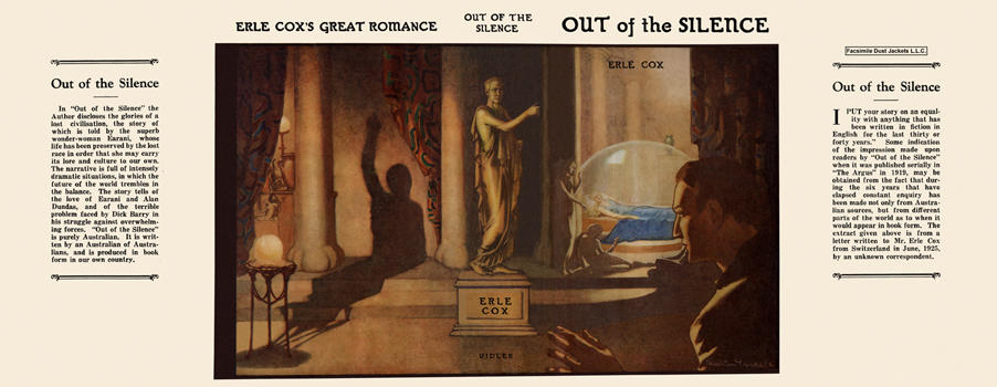 Out of the Silence. Erle Cox.