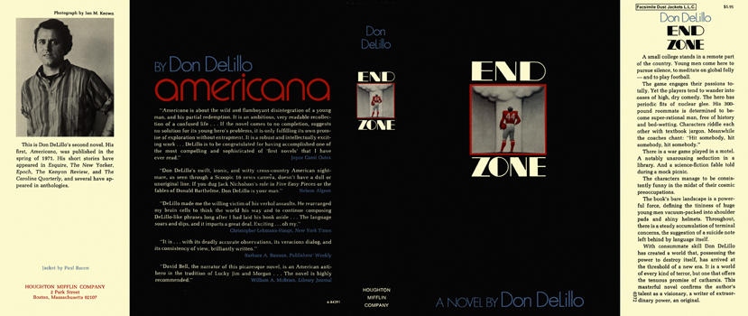 End Zone. Don DeLillo.