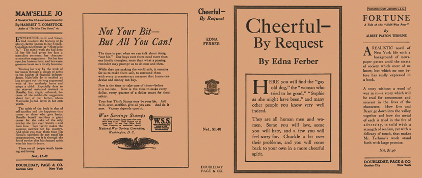 Cheerful - by Request. Edna Ferber.