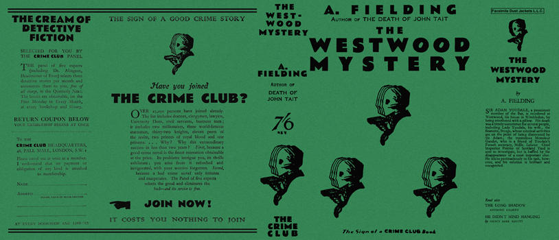 Westwood Mystery, The. A. Fielding.