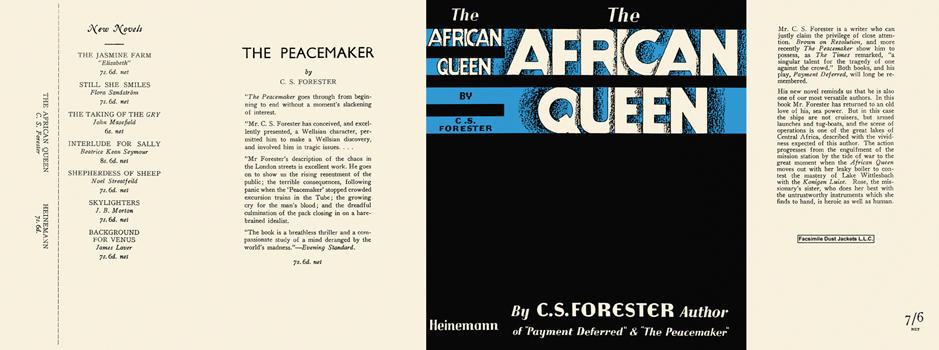 African Queen, The. C. S. Forester