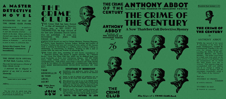 Crime of the Century, The. Anthony Abbot.