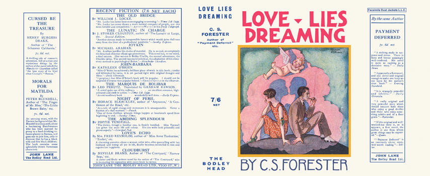 Love Lies Dreaming. C. S. Forester