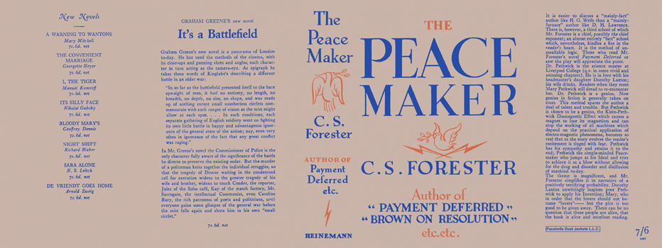 Peace Maker, The. C. S. Forester