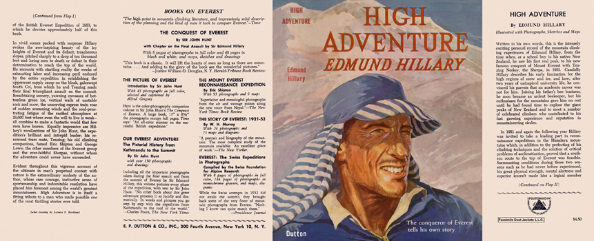 High Adventure. Edmund Hillary
