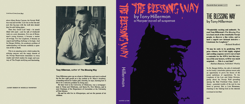Blessing Way, The. Tony Hillerman.