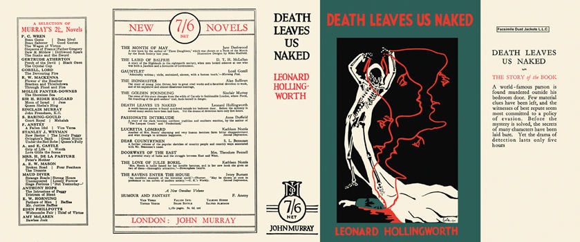 Death Leaves Us Naked. Leonard Hollingworth