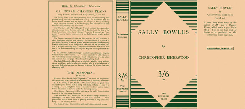 Sally Bowles. Christopher Isherwood