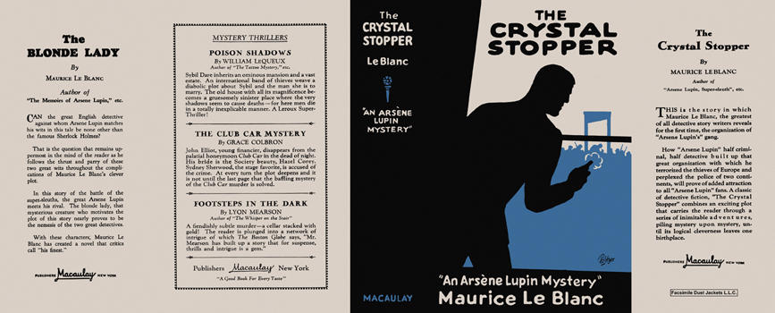 Crystal Stopper, The. Maurice LeBlanc.