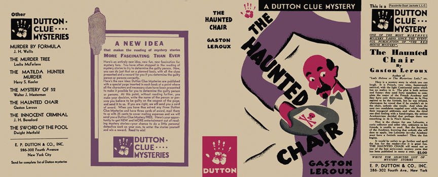 Haunted Chair, The. Gaston Leroux
