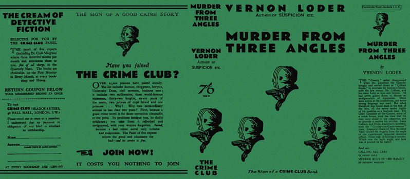 Murder from Three Angles. Vernon Loder