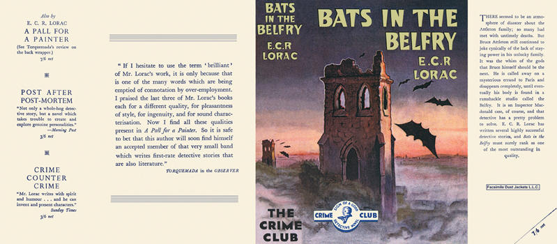 Bats in the Belfry. E. C. R. Lorac