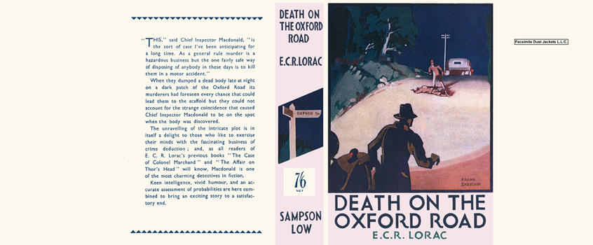 Death on the Oxford Road. E. C. R. Lorac
